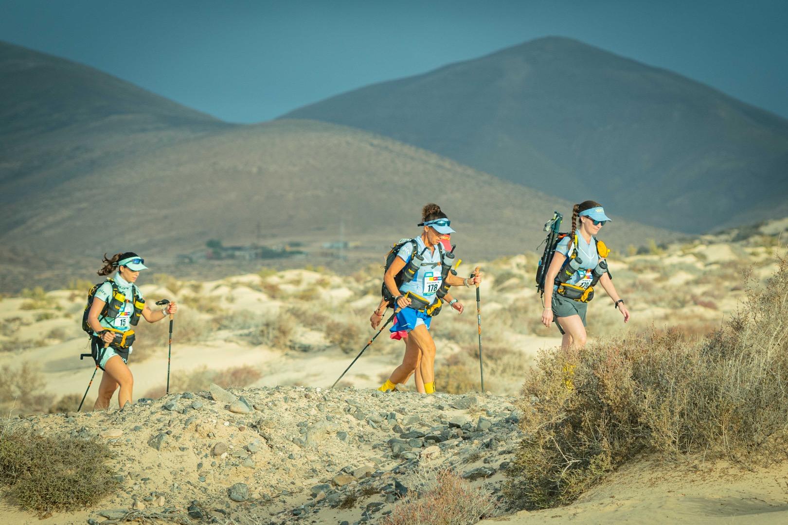 Crónica Etapa 2 Half Marathon des Sables Fuerteventura 2019