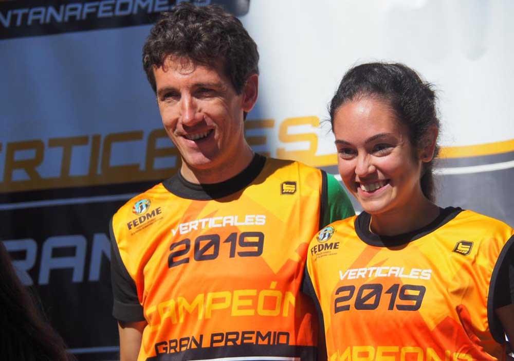 Gisela Carrión y Mikel Beunza se proclaman Campeones de la Copa de España de KV