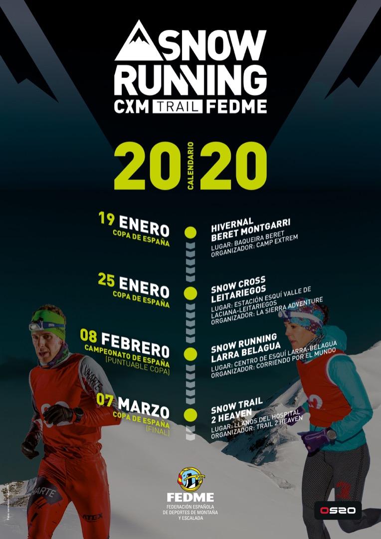 Nace el circuito de Copa y Campeonato de España de Snowrunning