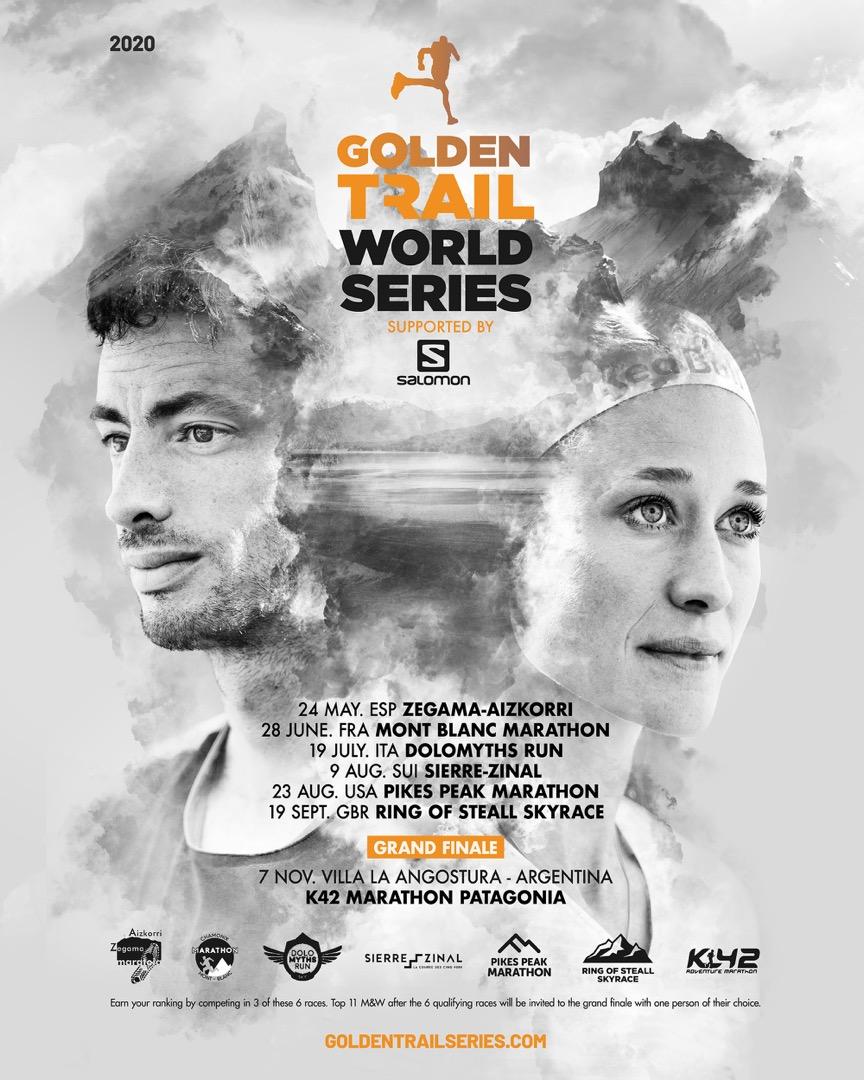 Calendario de las Golden Trail World Series 2020