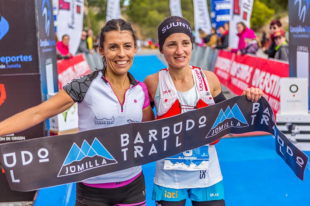 Gemma Arenas y Antonio Martínez ganadores de Barbudo Trail