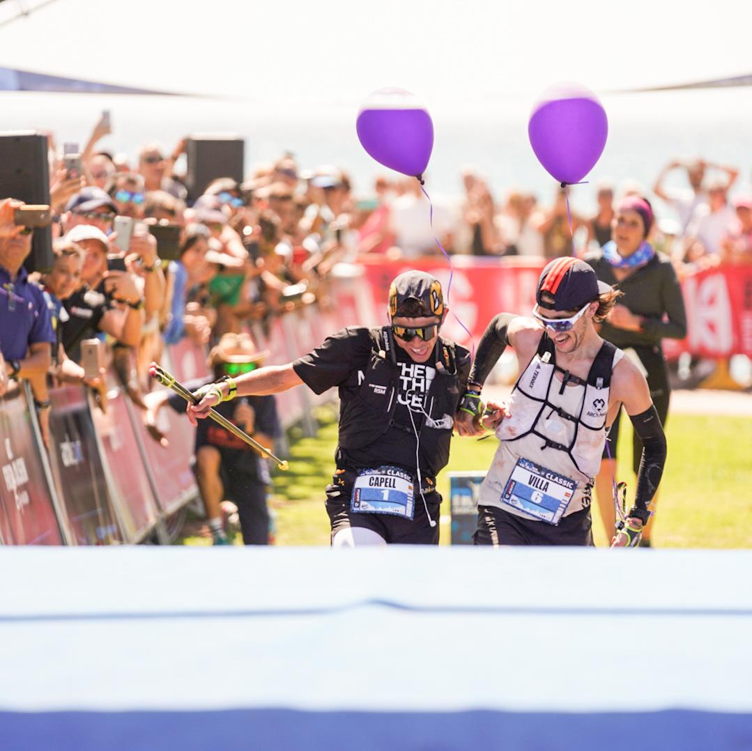 Pablo Villa y Pau Capell comparten triunfo en la Transgrancanaria Classic