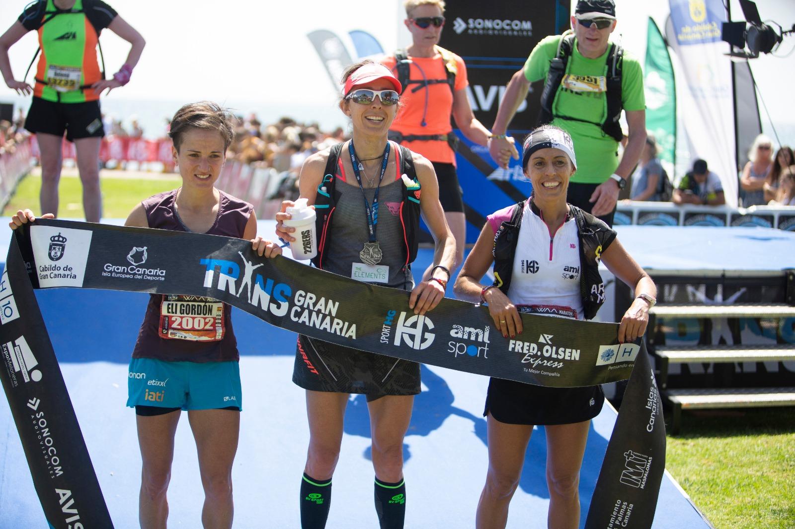 Andreu Simón y Anna Comet se imponen en laTransgrancanaria Maratón