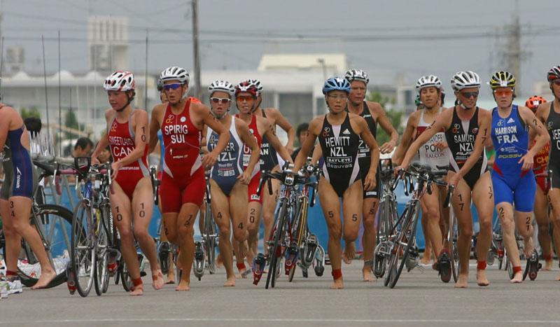 Galería bienvenido al triatlon